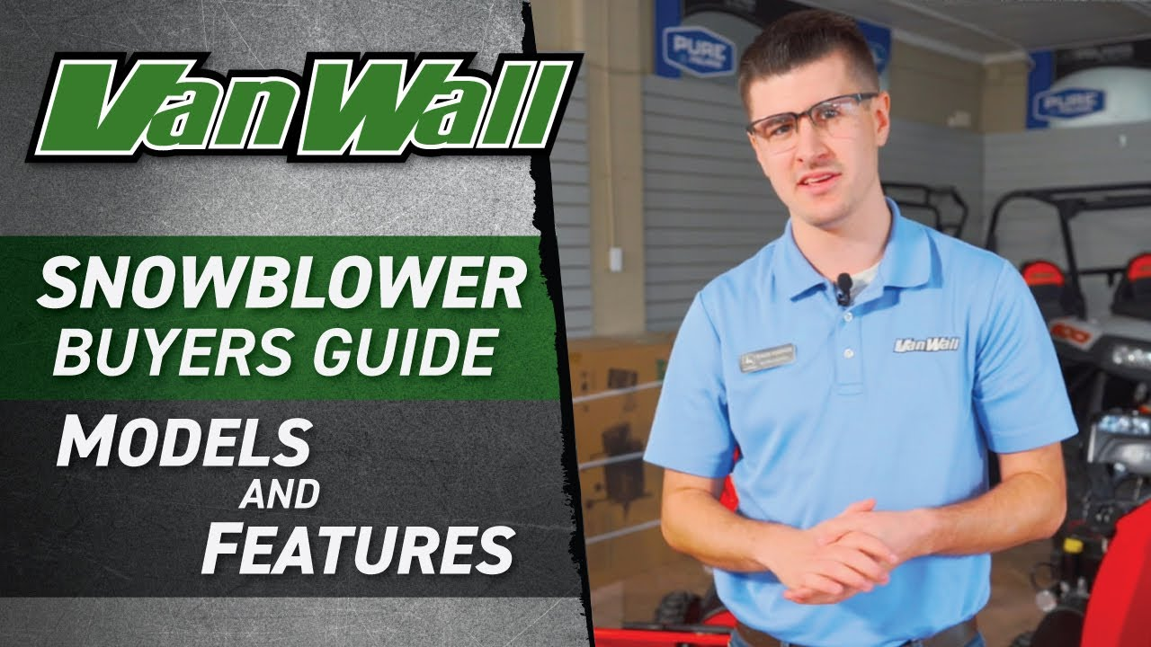 Snowblower Buyer's Guide